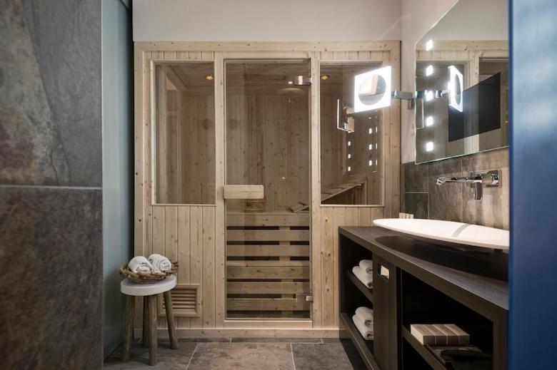 hotel met prive sauna