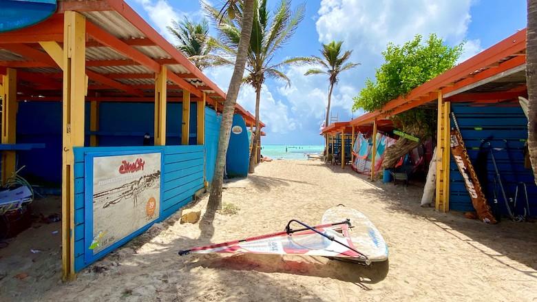 stranden bonaire jibe city