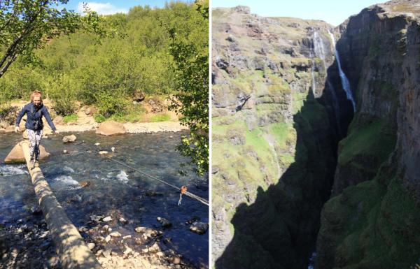 Glymur waterval