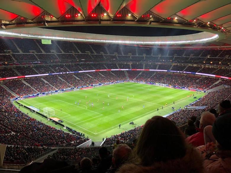 Atlético Madrid stadion citytrip