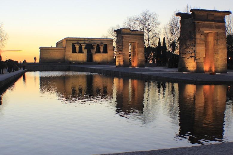 Tempel van Debod Madrid