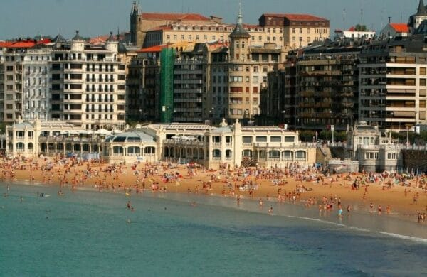 San Sebastian strand