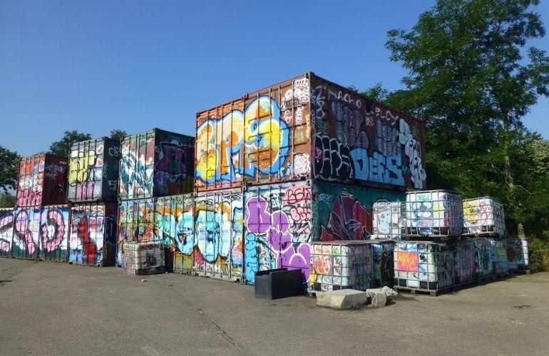 Graffiti nijmegen