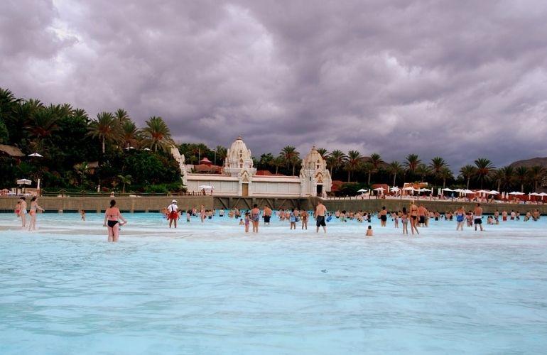 Waterparken zwemmen tenerife