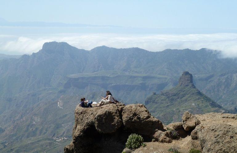 panoramisch uitzicht gran canaria