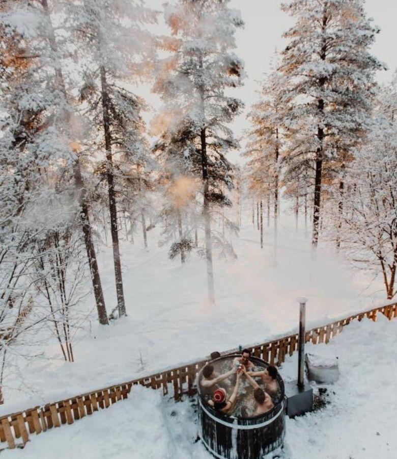 bubbelbad finland hotel