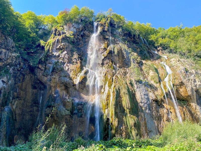Big waterfall Veliki slap