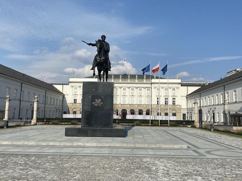 palace Warschau