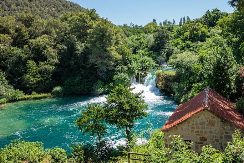 Krka waterval route