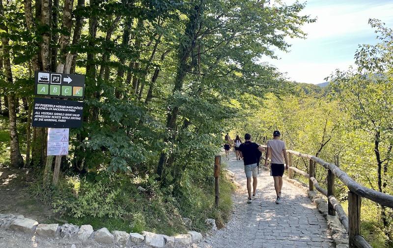 Looproutes Plitvice lakes