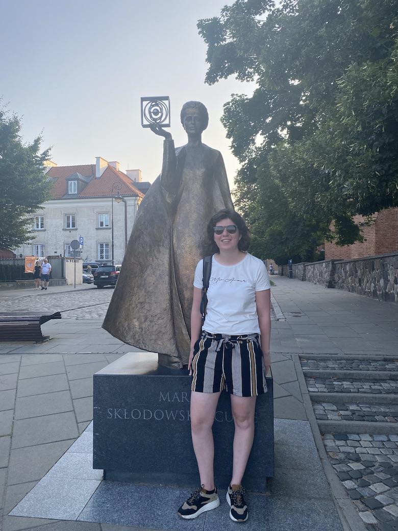 Marie Curie Statue Warschau