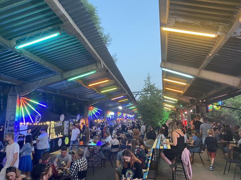 night market Warschau