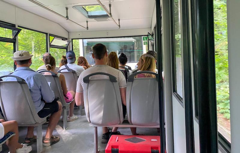 Plitvice meren bus