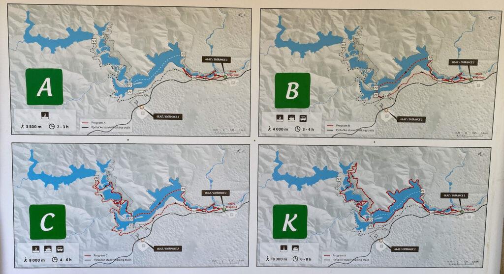 Plitvice routes