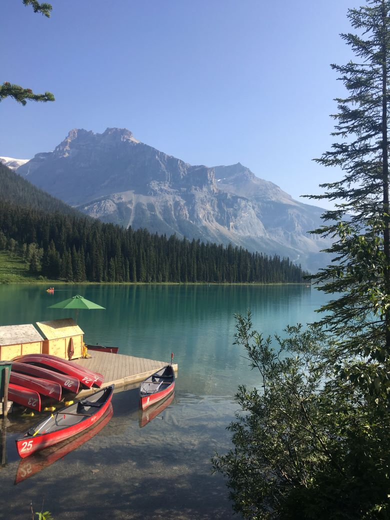 Emerald Lake boothuis
