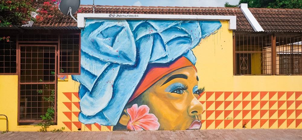 street art route curacao